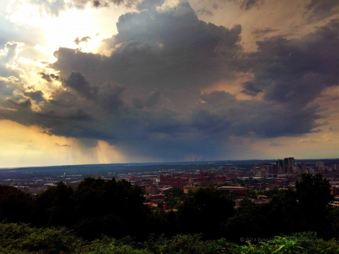 A Stormcloud over Birmingham