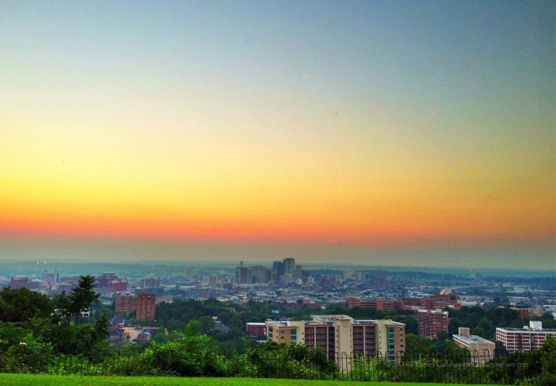 Saturation Falling on Birmingham