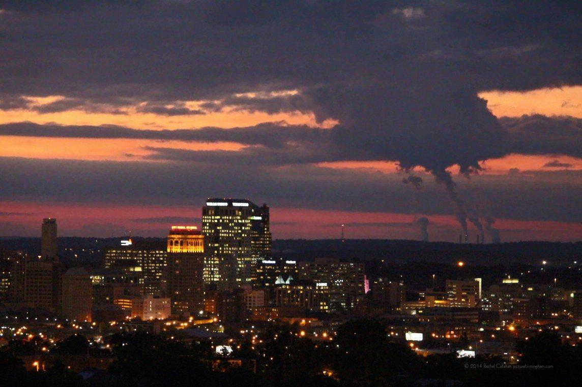 131009 A Birthday Sunset in Birmingham