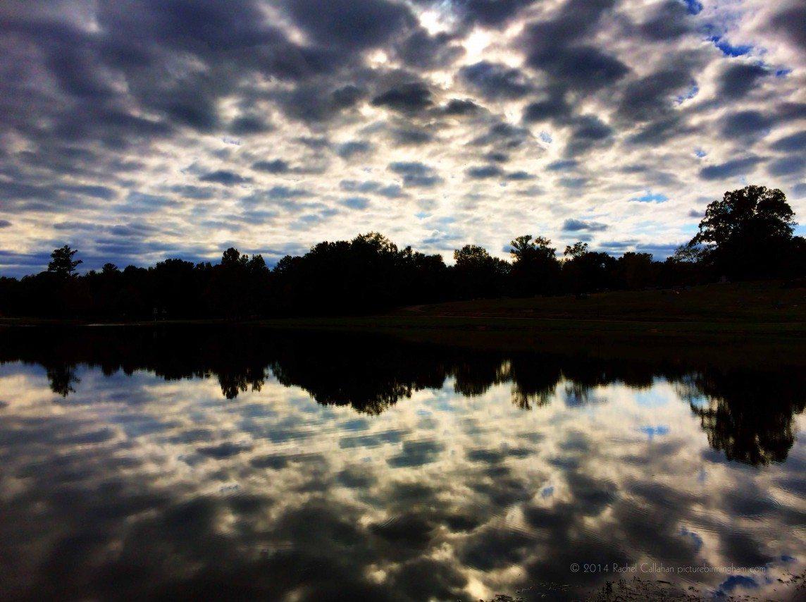 Rorschach Clouds - Helena, Alabama