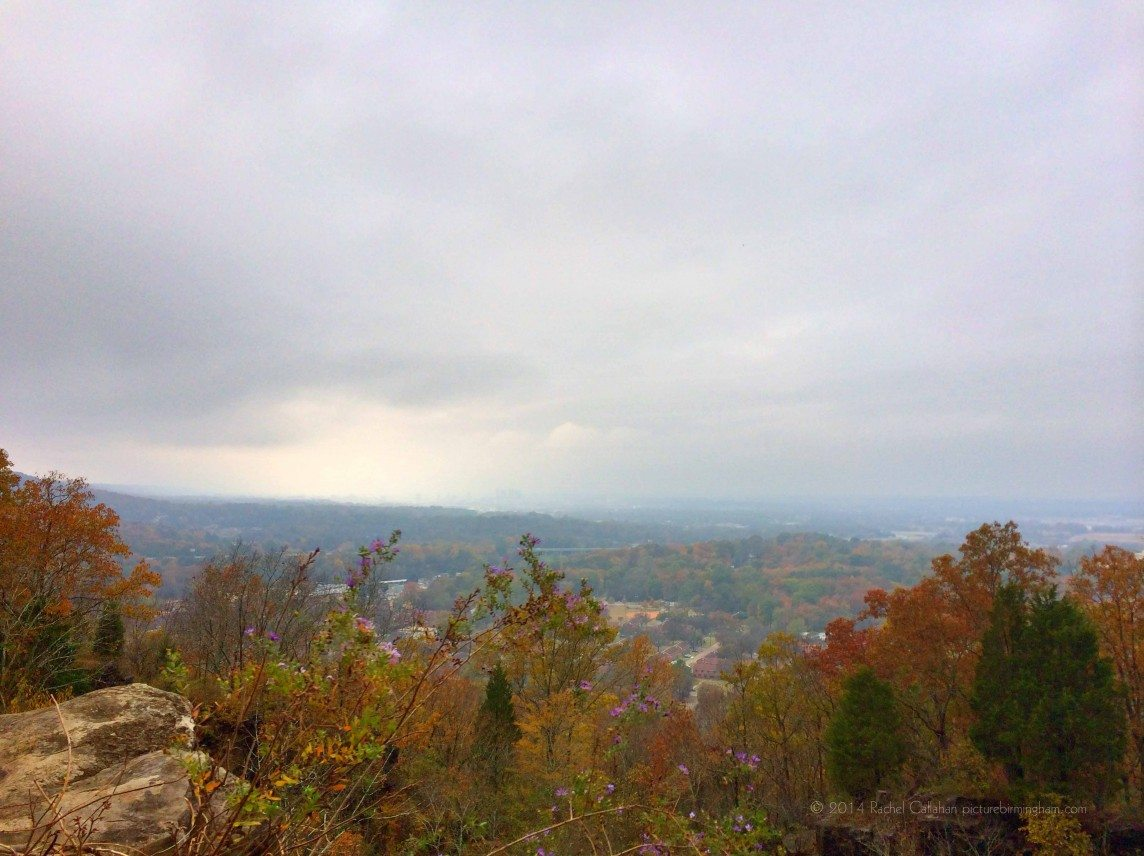 A Foggy Day from Ruffner Mountain