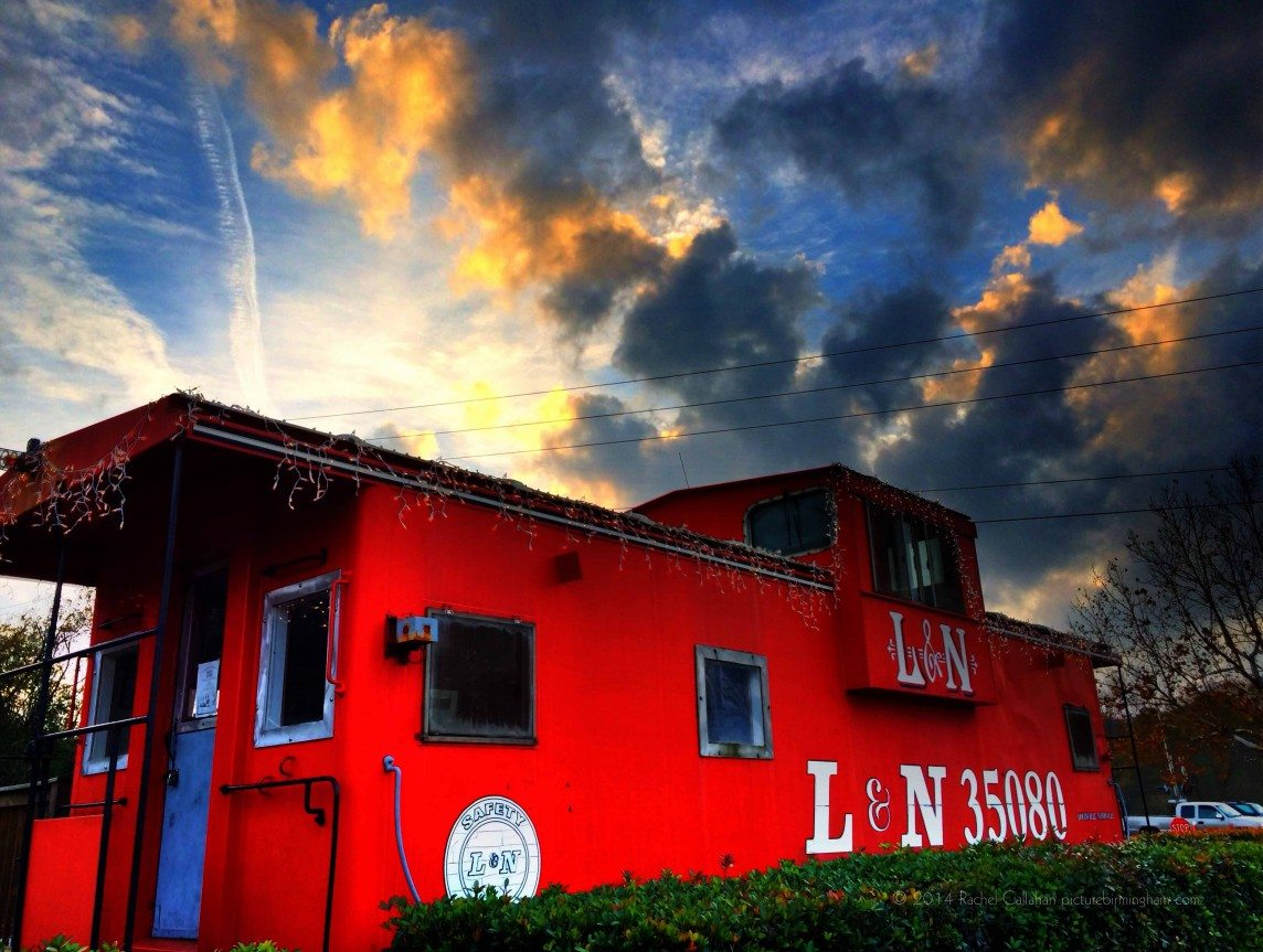Where the Caboose and the Sky Meet.