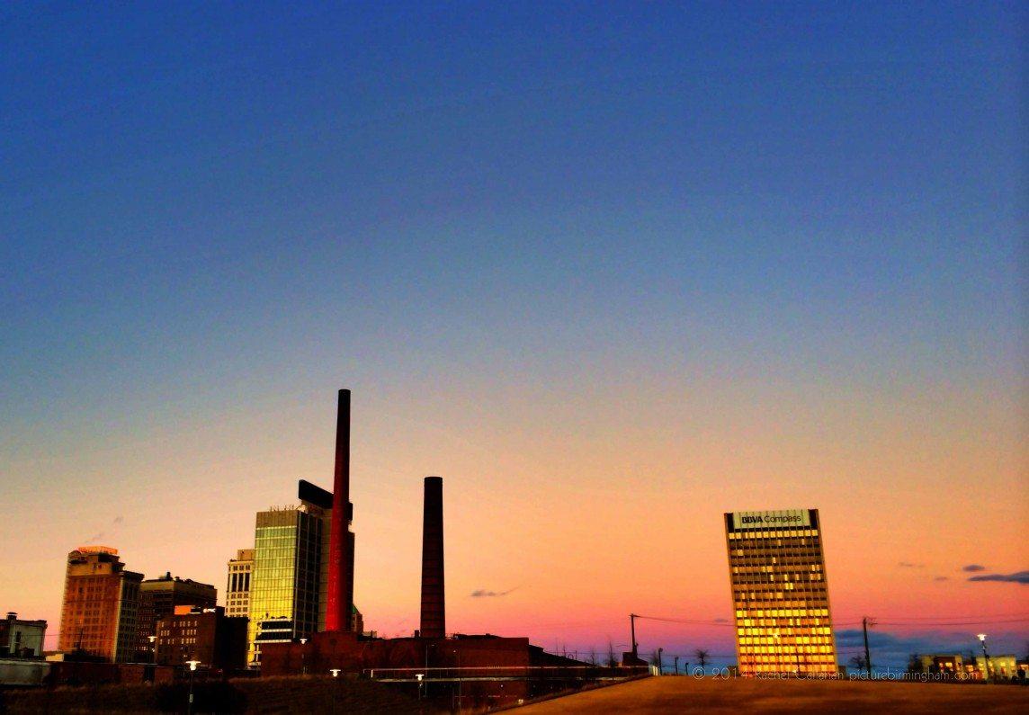 Ombre Sky in Birmingham Alabama