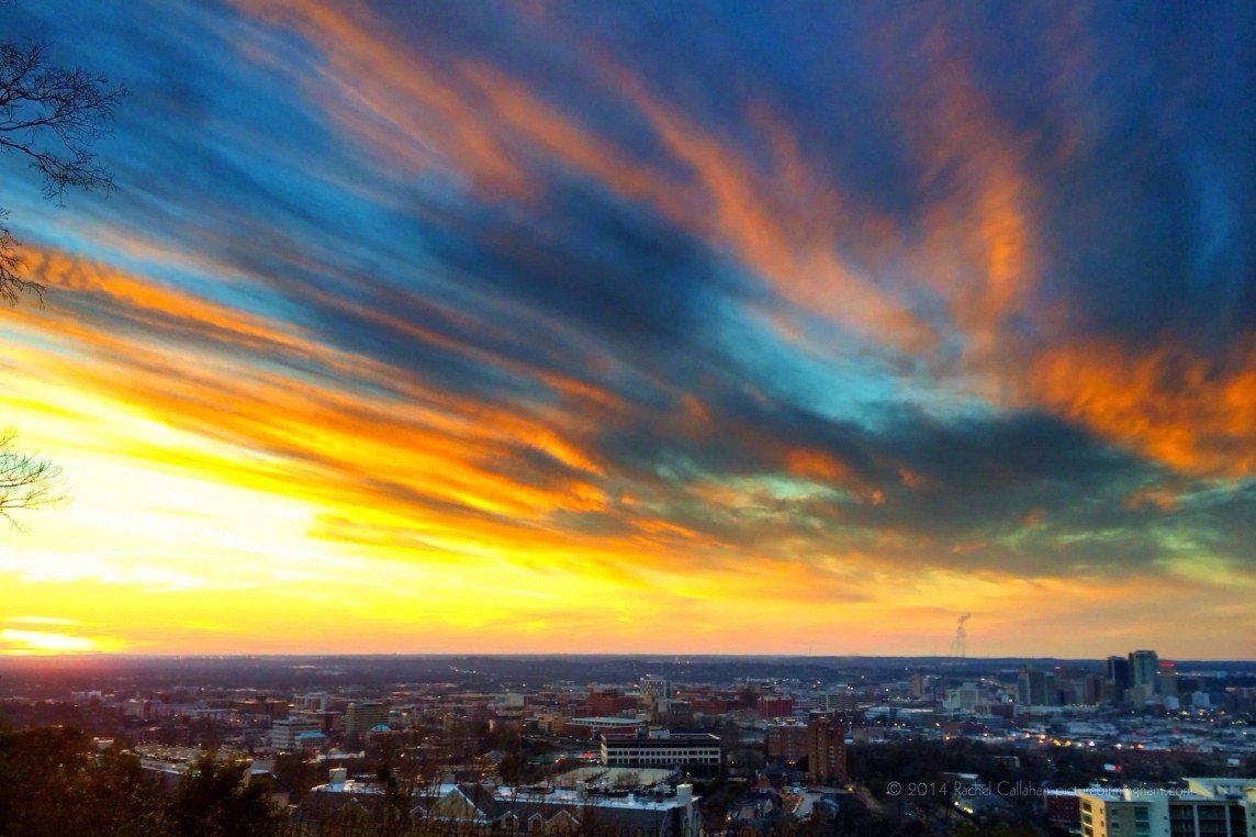 Brushstrokes over Birmingham