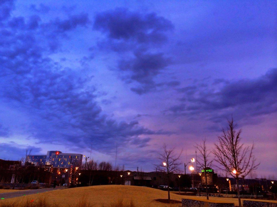 Skies Meeting in Downtown