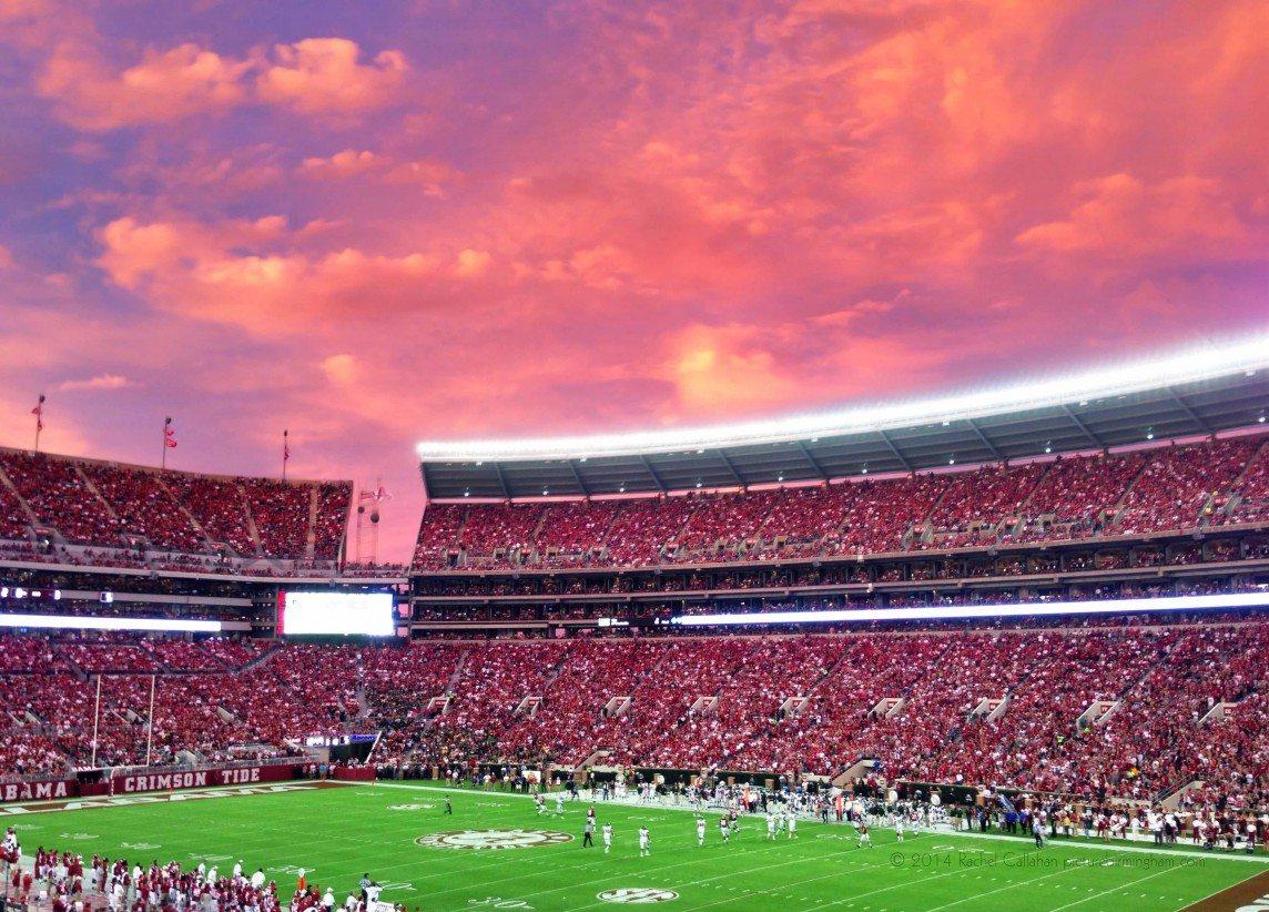 Pink Skies Over Tuscaloosa