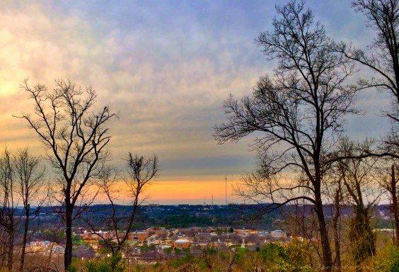 Sunset Over Samford