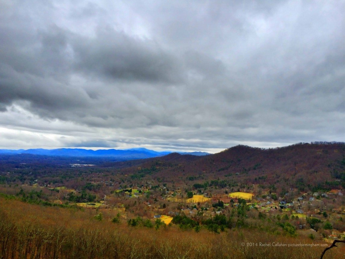 A Village in the Blue Ridge Mountains