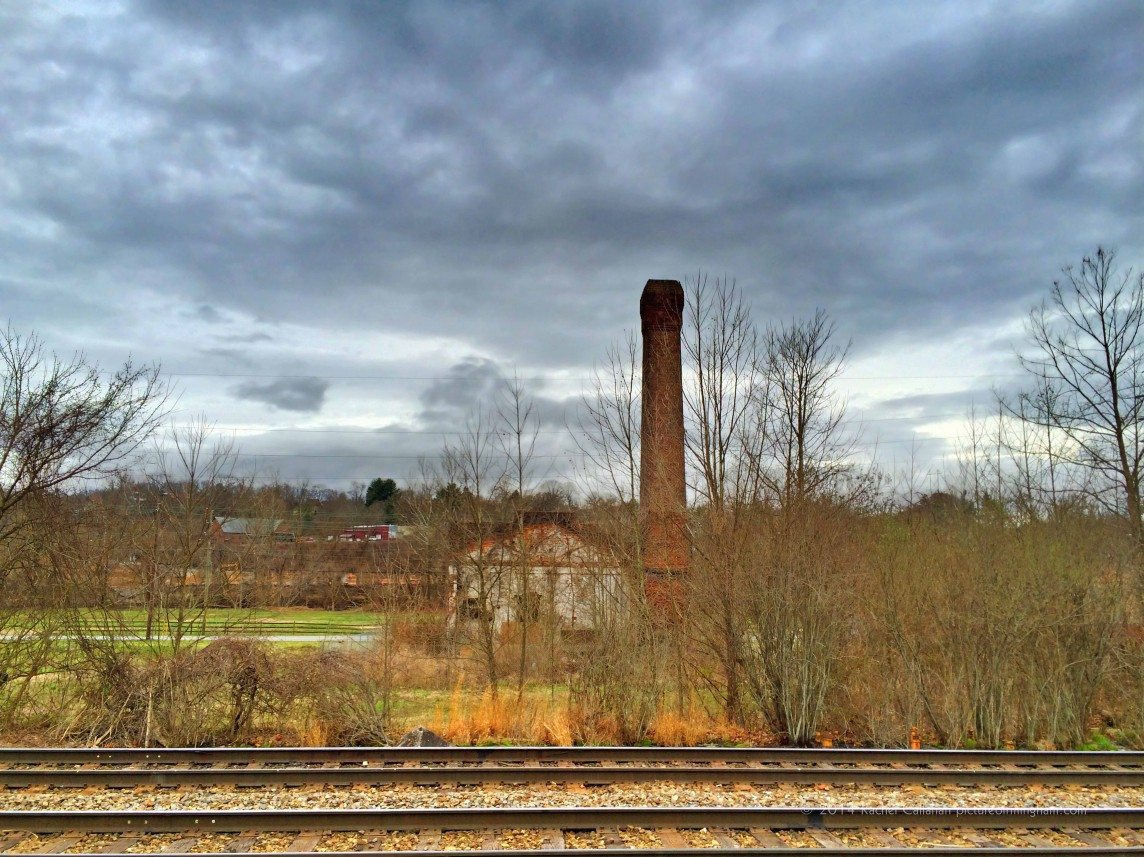 A Chimney in the River Arts District