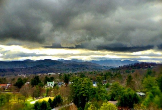 Storms Rolling Over the Mountains