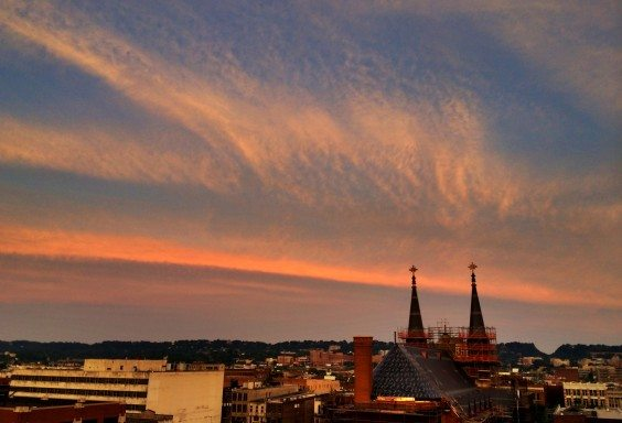 Waves of Sky and Steeples