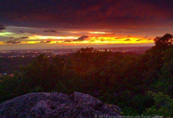 140610b Sunset Rock
