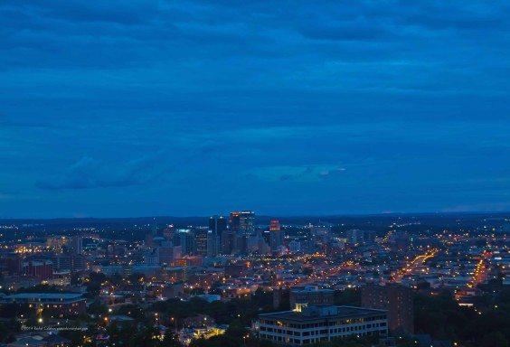 Birmingham at Dusk