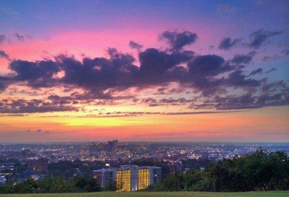 Light Show over Birmingham