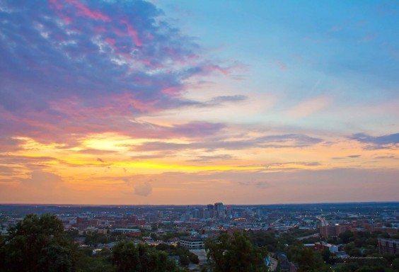 Tides of Color Over Birmingham