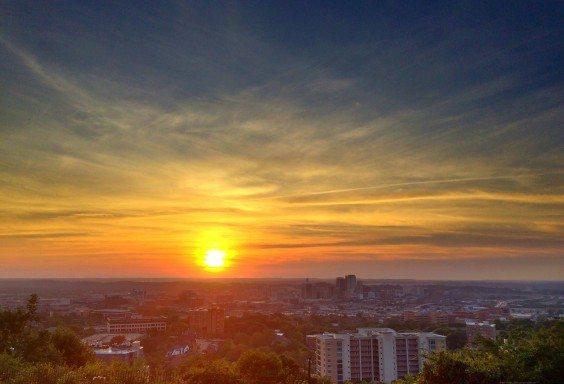 Three Dimensional Skies over Birmingham