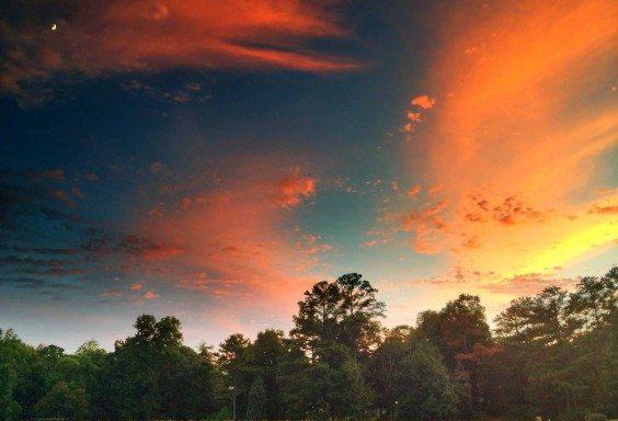 The Aurora Borealis Sunset