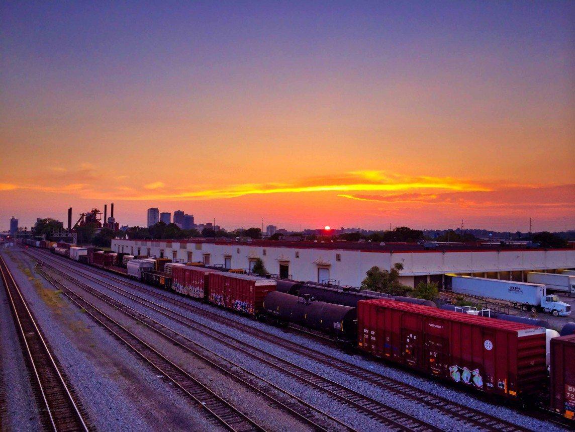 Tracks Sloss and Birmingham