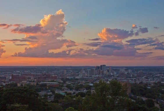 Towering Clouds Over Birmingham