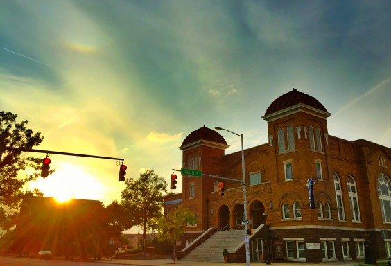 The Sun Over Sixteenth Street Baptist