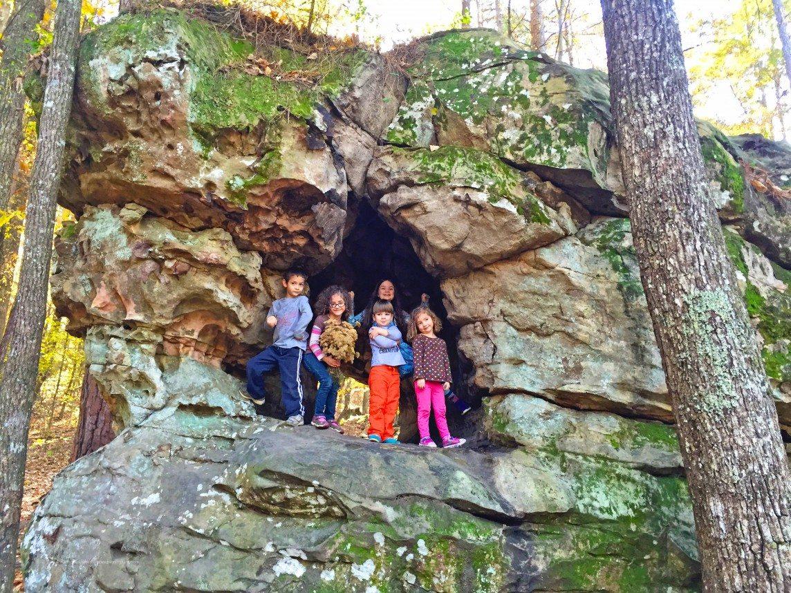 Exploring Moss Rock Preserve