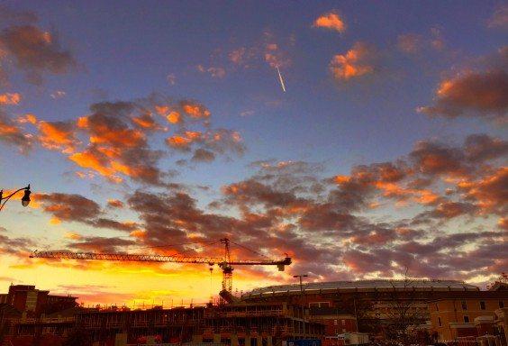 Sunset Over Bryant-Denny