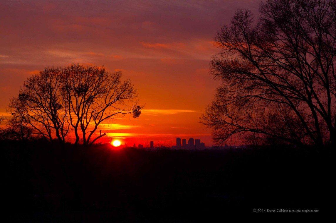 Birmingham in Red