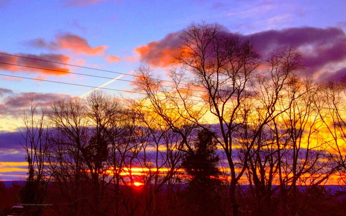 Takeoff at Sunrise