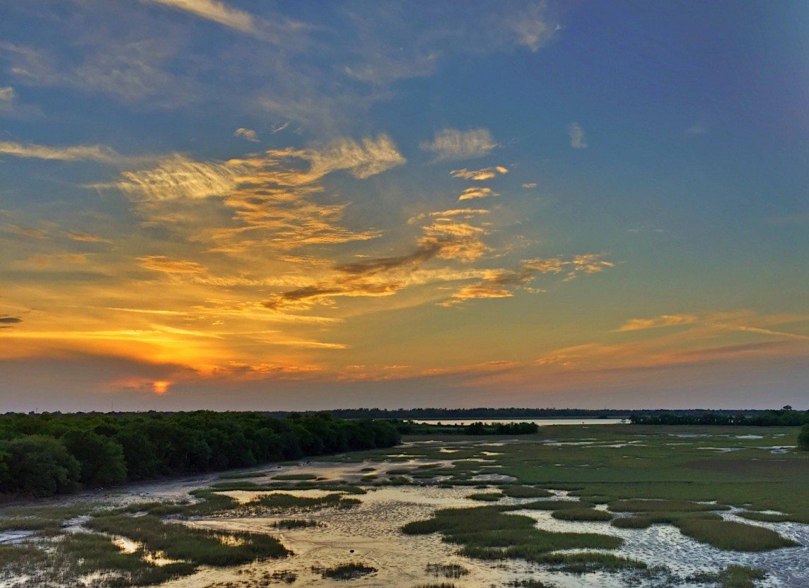 Sunset Over the Marshes of Charleston