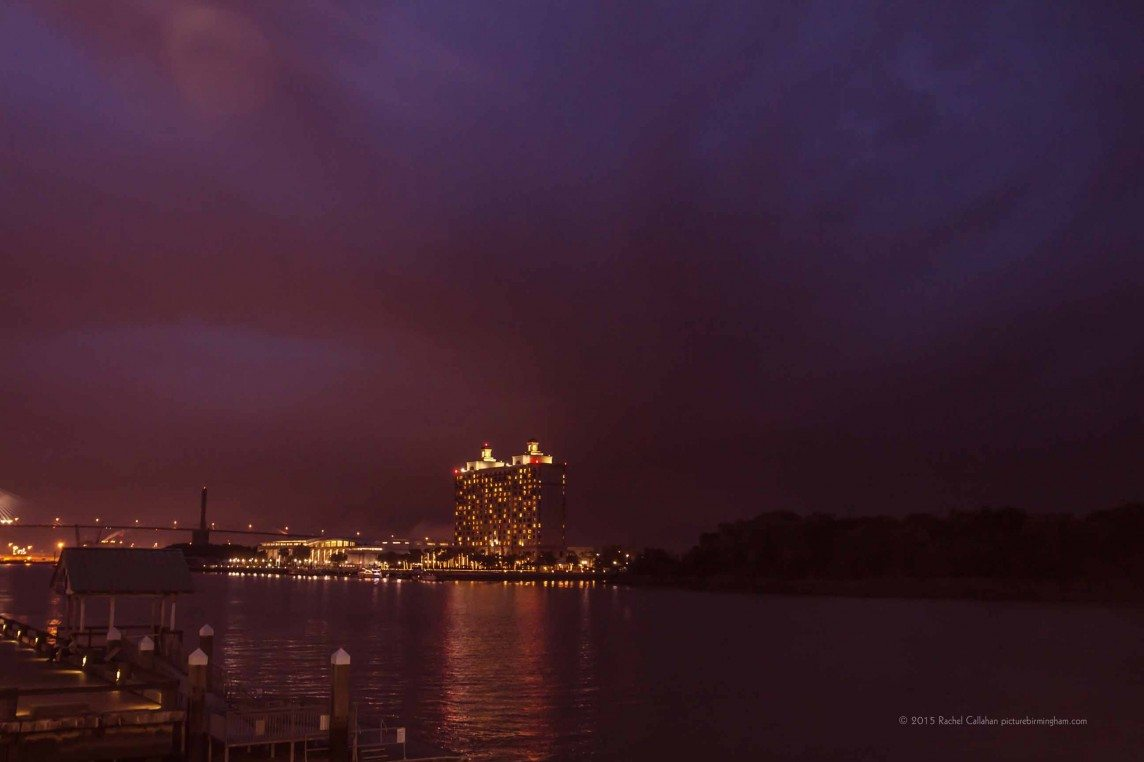Storms over Savannah