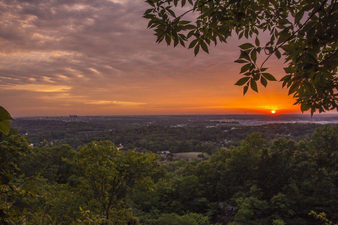 Ruffner Mountain's View of Birmingham
