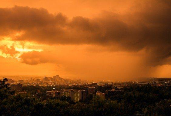 Summer Storm Over Birmingham 3