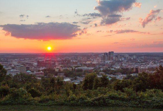 Birmingham's Glow