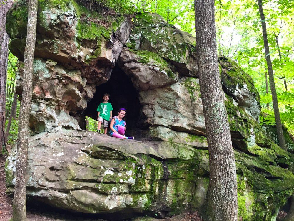 Rock-Climbing at Moss Rock