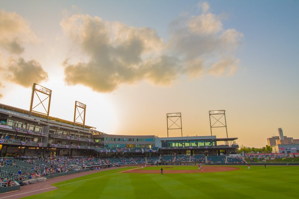 Sunset Over The Barons