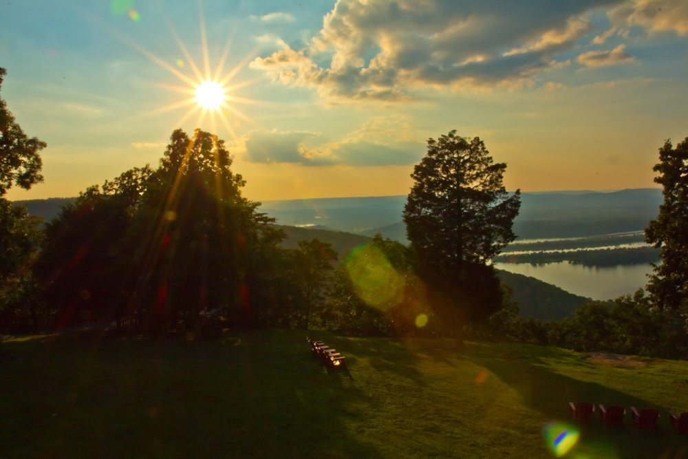 140705 A Gorham's Bluff Sunset