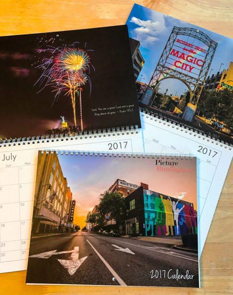 2017 Birmingham Calendar