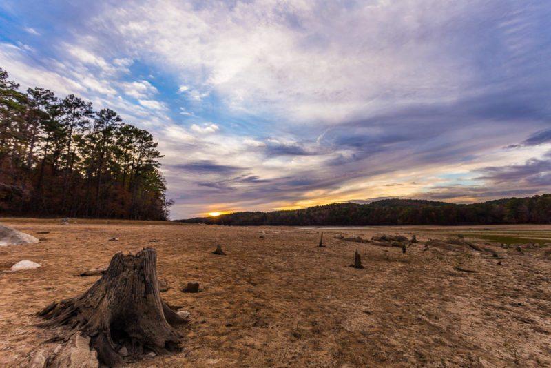 161111h-lake-purdy-drought-sunset