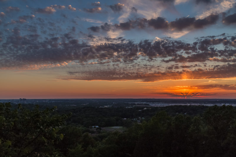 170526 Sunset From Ruffner Mountain _MG_8786 s