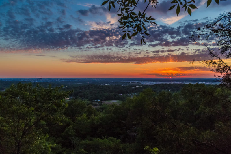 170526 Sunset From Ruffner Mountain _MG_8816 s