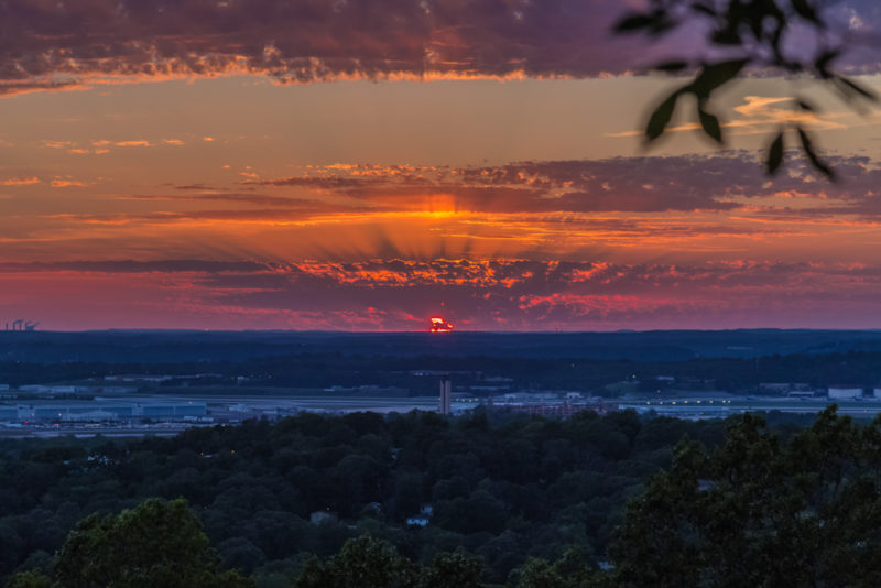 170526 Sunset From Ruffner Mountain _MG_8826 s