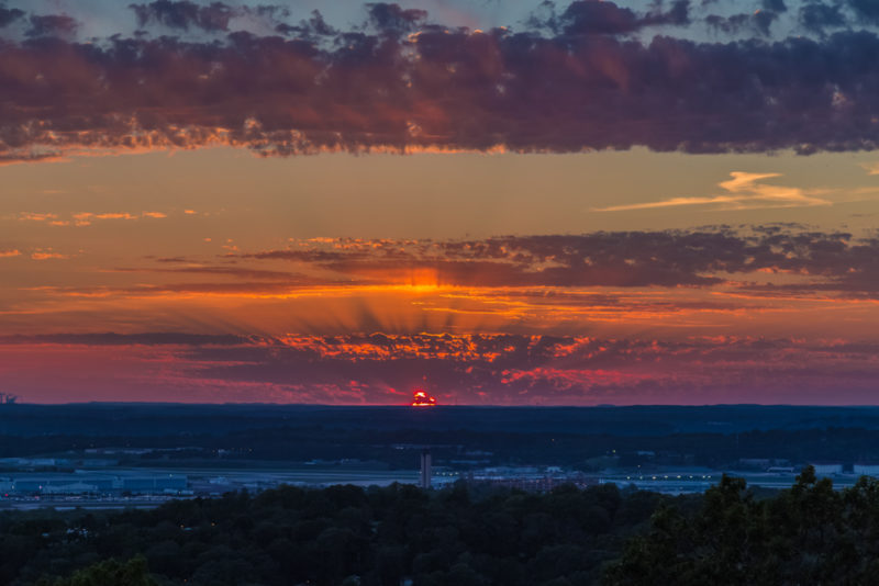 170526 Sunset From Ruffner Mountain _MG_8832 s