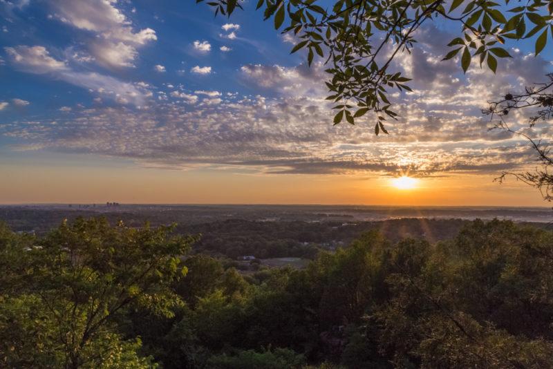 170526 Sunset on Ruffner Mountain_MG_8632 s