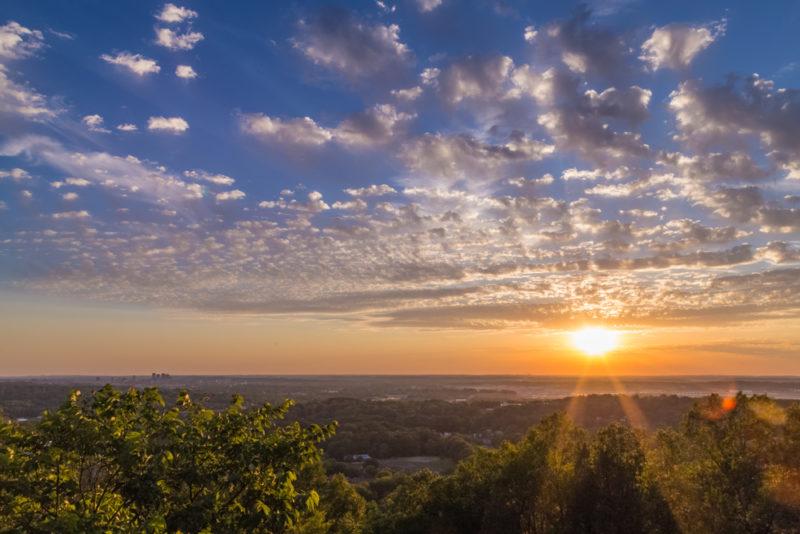 170526 Sunset on Ruffner Mountain_MG_8644 s