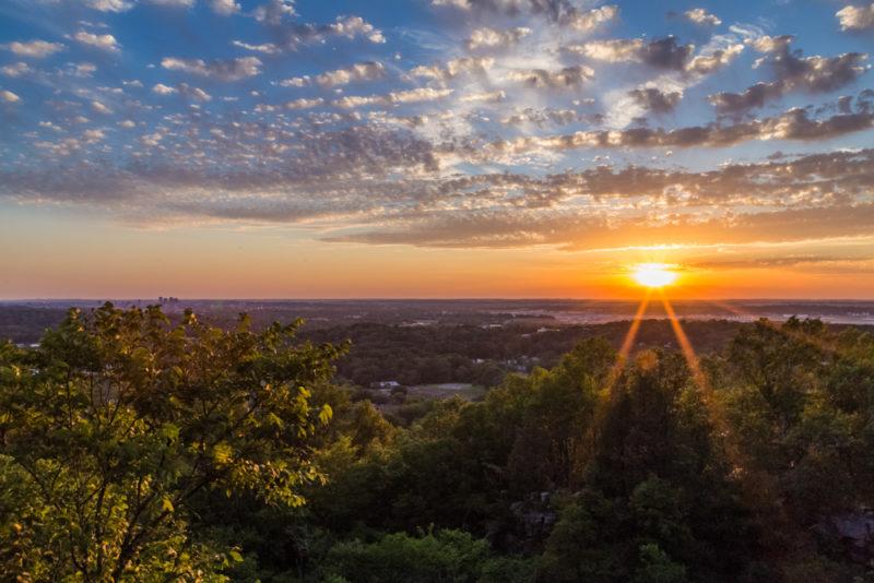 170526 Sunset on Ruffner Mountain_MG_8700 s