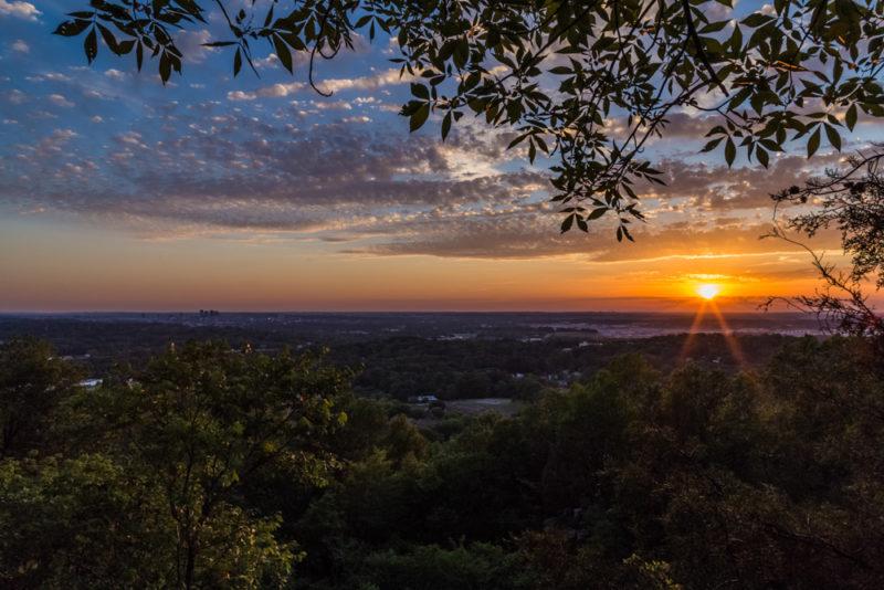170526 Sunset on Ruffner Mountain_MG_8717 s