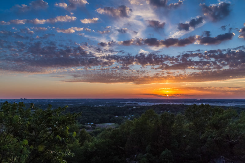 170526 Sunset on Ruffner Mountain_MG_8748 s