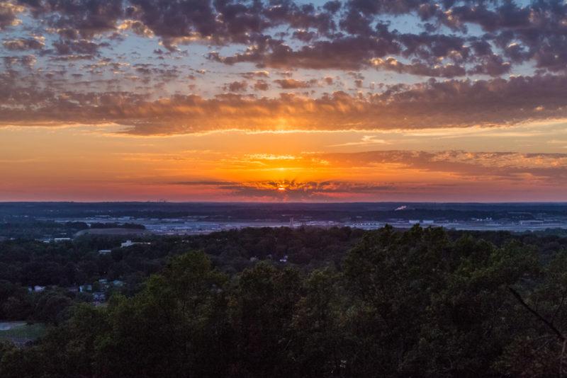 170526 Sunset on Ruffner Mountain_MG_8759 s