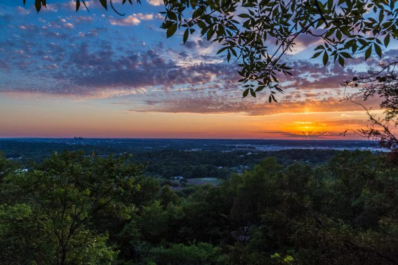 170526 Sunset on Ruffner Mountain_MG_8769 s