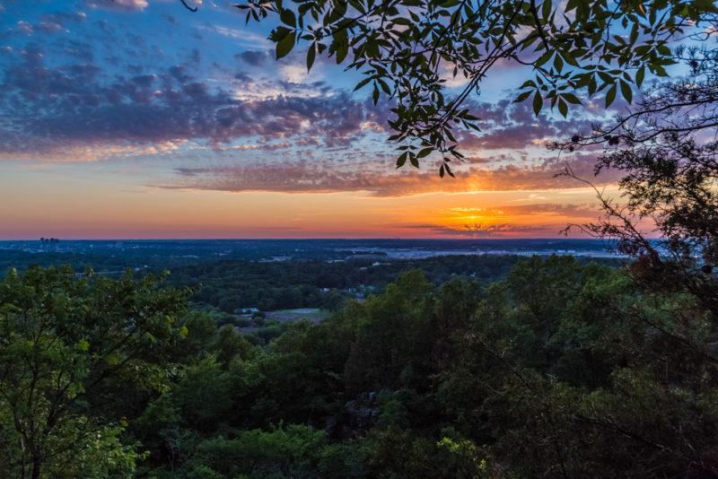 170526 Sunset on Ruffner Mountain_MG_8781 s